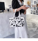 Largecapacity womens new trendy casual canvas shoulder fashionable portable tote bag NHTC271727