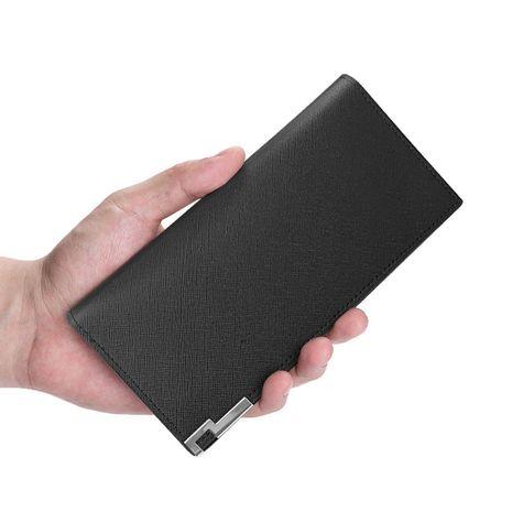 Nouveau portefeuille long pour hommes en cuir PU coréen NHBN271741's discount tags