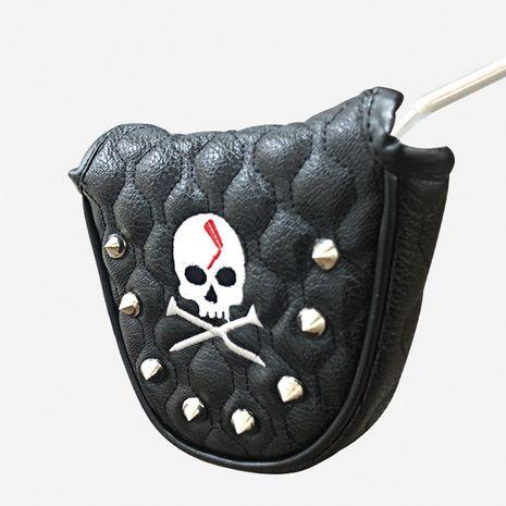 Couverture de putter de golf de crâne de Corée NHBN271743's discount tags