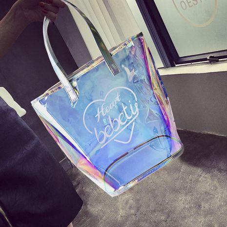nouveau sac transparent en maille laser NHBN271749's discount tags