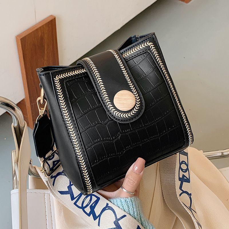 Fashion autumn highend stone pattern single shoulder messenger small square bag NHJZ271789