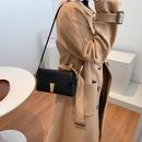 Fashion women autumn crocodile pattern highquality small square shoulder handbag NHJZ271802