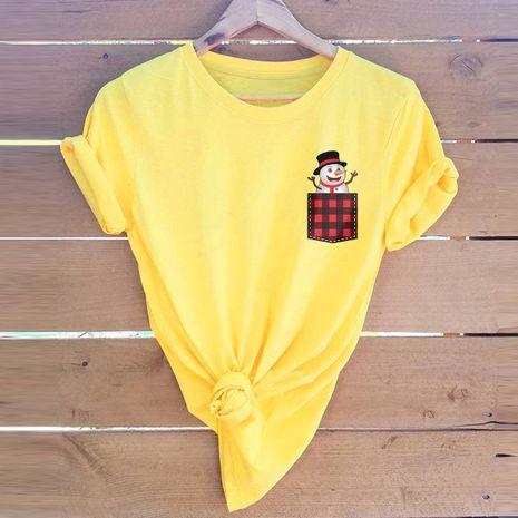 t-shirt à manches courtes pour femme NHSN271951's discount tags