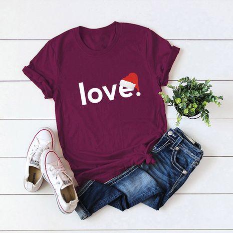 t-shirt à manches courtes pour femme NHSN271956's discount tags