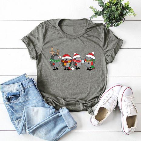 chemise femme t-shirt à manches courtes NHSN271958's discount tags