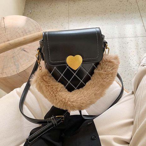 nuevo bolso de mensajero de piel romboidal con hilo de bordar NHJZ272538's discount tags