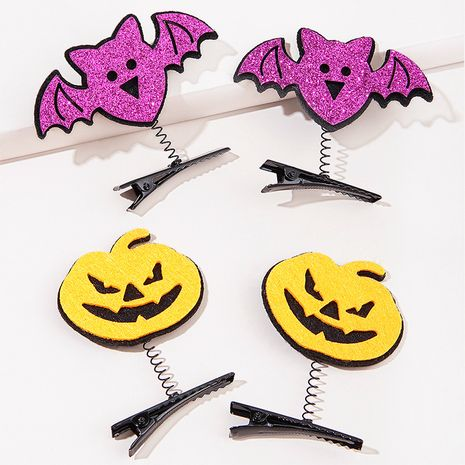 Halloween  ghost pumpkin bat  hairpin  NHGE272123's discount tags