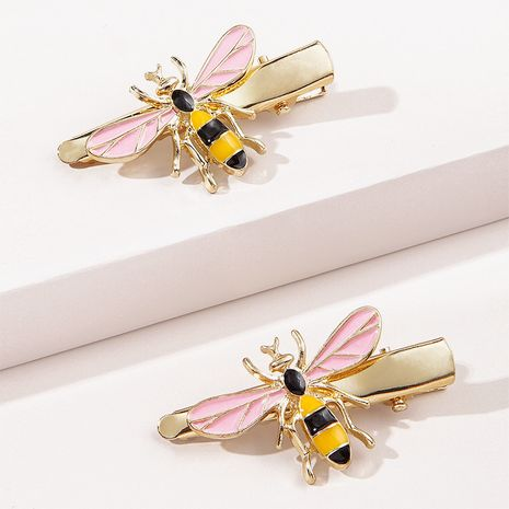 New Korean metal bee hairpin wholesale  NHGE272137's discount tags