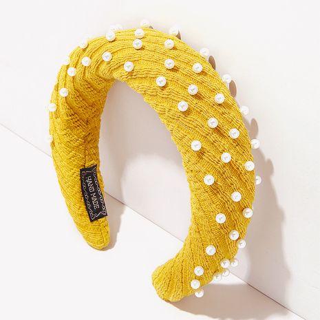 hot sale sponge nail full pearl headband  NHGE272138's discount tags