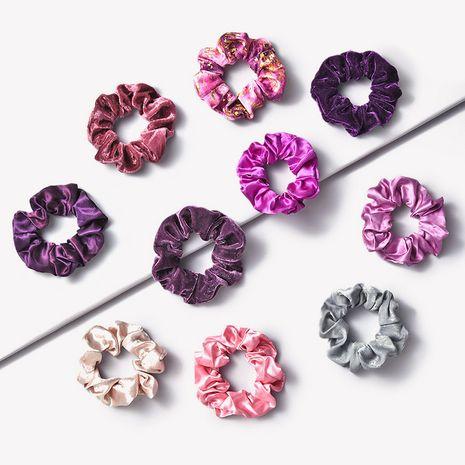 Anneau de cheveux violet rétro romantique gros intestin cercle NHGE272168's discount tags