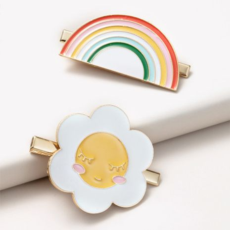 sweet rainbow sun hairpin  NHGE272173's discount tags