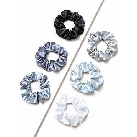 Mode coréenne et anneau de cheveux gros intestin en satin simple NHGE272190's discount tags