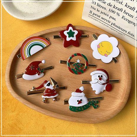 Horquilla de clip de pico de pato navideño NHOF272238's discount tags