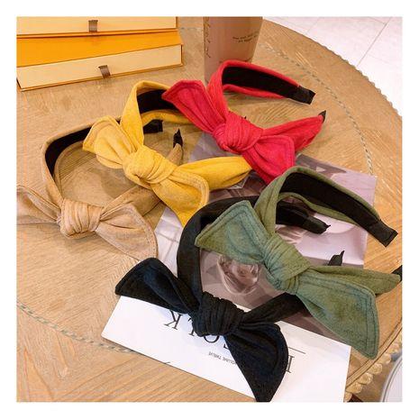 Korea's  sweet  bow headband  NHHD272261's discount tags