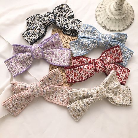 Korean  fragrance bow hairpin  NHNA272292's discount tags