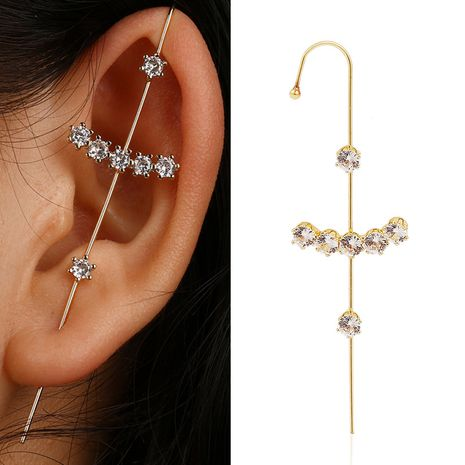 gold plated ear hook NHJJ272327's discount tags