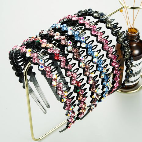 Bande de cheveux en strass acrylique antidérapante à la mode coréenne NHLN272370's discount tags