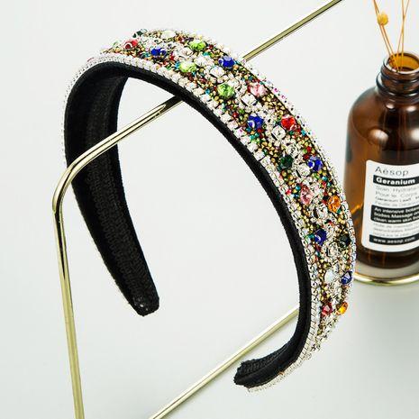 bandeau antidérapant en strass couleur de luxe tendance NHLN272389's discount tags