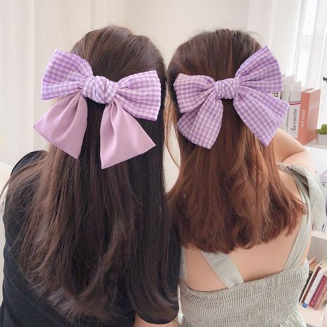Big bow korea  top clip  NHCQ272424's discount tags