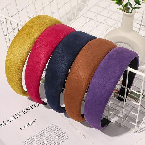 fashion   wide-sided sponge headband NHQC272546's discount tags
