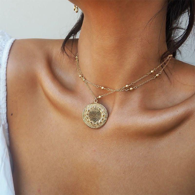 fashion simple  womens necklace NHAJ272564