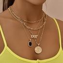 fashion  head pendant womens necklace  NHAJ272558