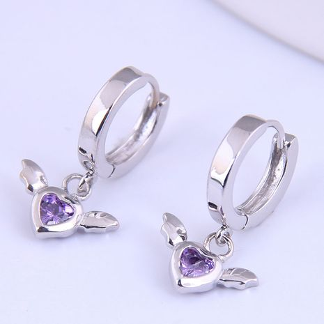 Korean fashion sweet angel wings personalized earrings NHSC272949's discount tags