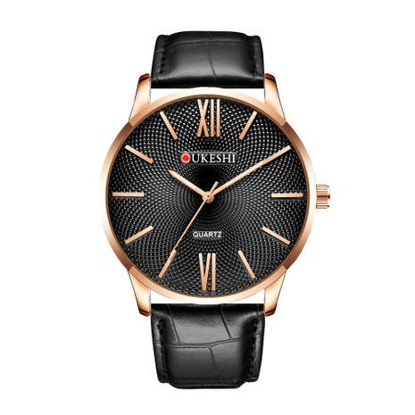 reloj simple con cinturón para hombre reloj ultrafino simple NHSS272604's discount tags
