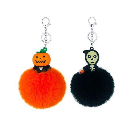Colgante dominante de la cabeza de la calabaza de goma suave del PVC luminoso del fantasma de Halloween NHAP272653's discount tags