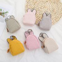 Korean rabbit ears pure color coin purse  NHAE272671