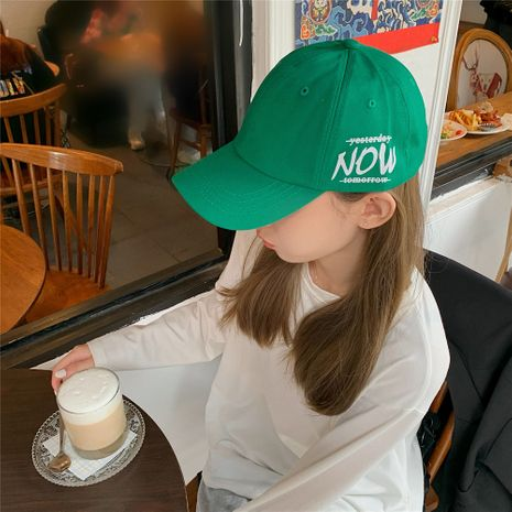 Gorra de béisbol con letras coreanas NHCM272730's discount tags