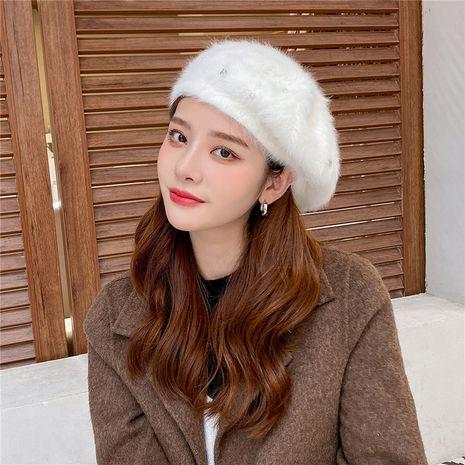 Sombrero retro de boina de color sólido de moda coreana NHCM272744's discount tags