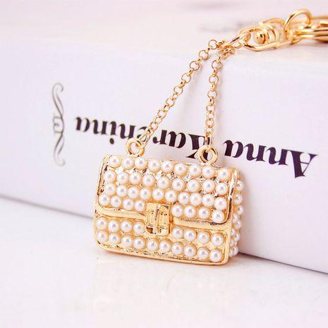 Llavero creativo coreano del bolso de la perla de las señoras lindas NHAK272817's discount tags