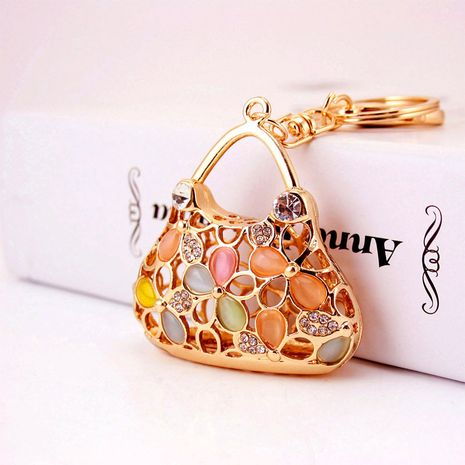 Korean  creative cute  handbag shape keychain NHAK272818's discount tags