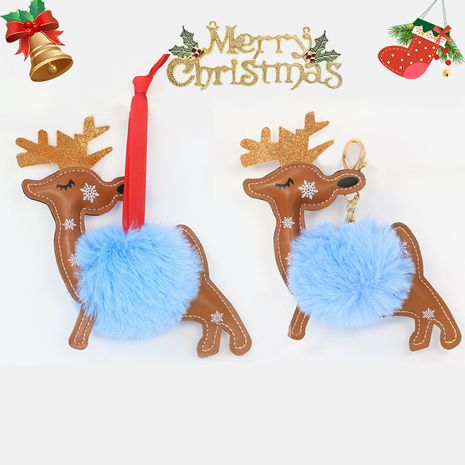 Christmas Elk Keychain NHAP272824's discount tags
