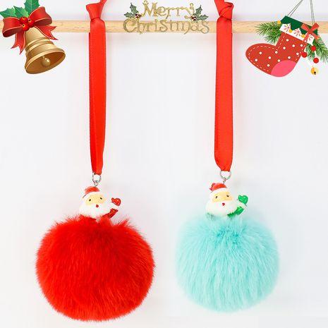 Llavero de hilo rojo de Santa Claus NHAP272829's discount tags