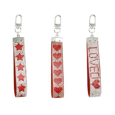 llavero de franela con tiras de diamantes con incrustaciones de diamantes NHAP272842's discount tags