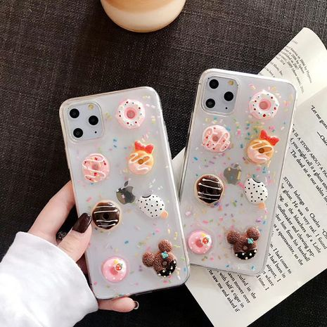 Nouvelle coque Apple 11 Promax Candy Biscuit Epoxy pour iPhone XS XR 8p NHFI272914
