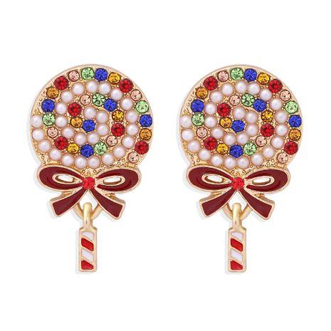 boucles d'oreilles à la mode avec diamants de couleur perle NHJQ273512's discount tags