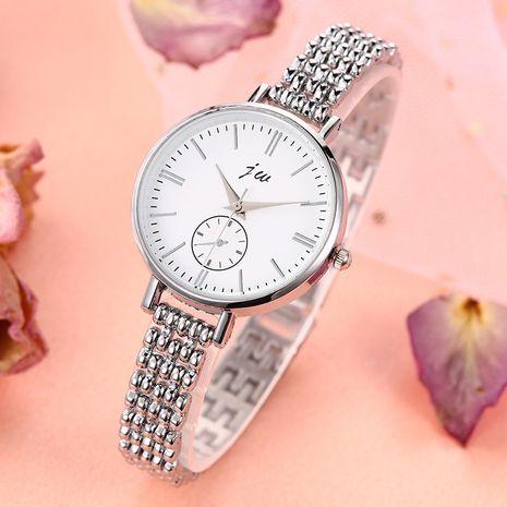 Reloj de pulsera de aleación de cuarzo con correa fina y esfera grande de moda NHSS273118's discount tags
