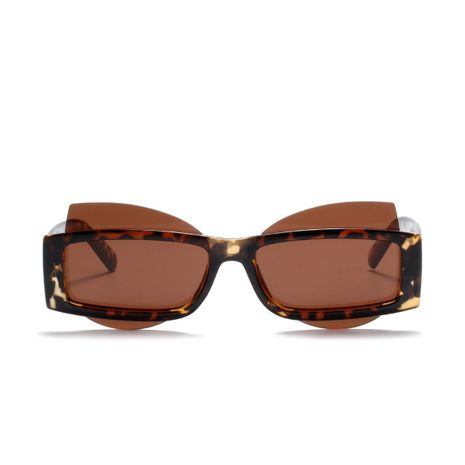 butterfly half-frame fashion retro sunglasses NHXU273140's discount tags
