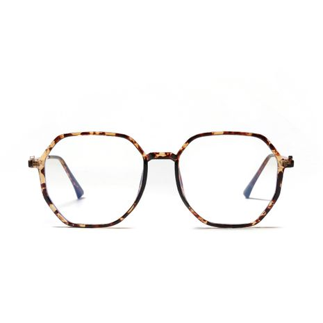 Hexagonal Retro Anti-Blu-ray Glasses  NHXU273144's discount tags