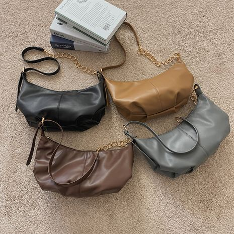 Soft leather handbags  NHLH273172's discount tags