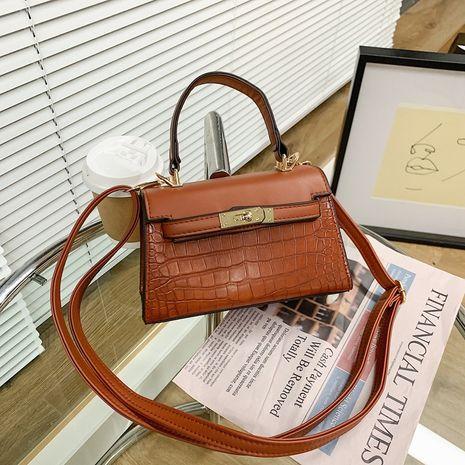 Fashion stone pattern single shoulder bag  NHJZ273200's discount tags