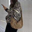 retro canvas leopard print bag NHHX273320