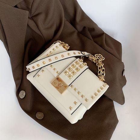 remache bolso de hombro de moda para mujer NHLH273343's discount tags