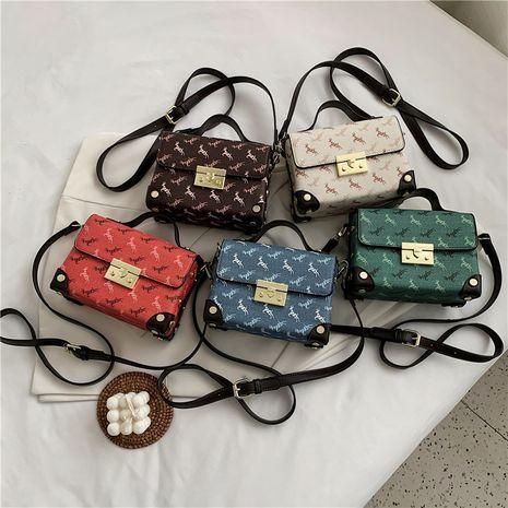 Bolso cuadrado portátil de impresión de moda coreana pequeño NHLH273367's discount tags