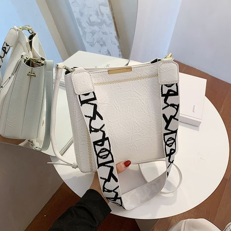 broadband messenger fashion one-shoulder bucket bag NHLH273384's discount tags