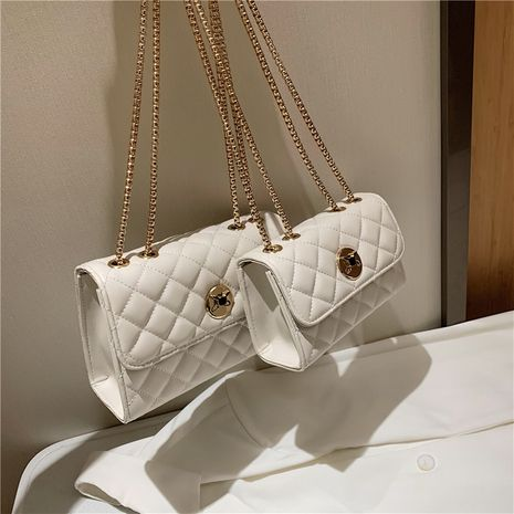 Bolso de hombro coreano con cadena NHLH273400's discount tags