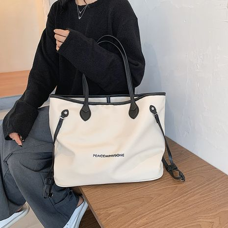 Simple and large capacity fashion underarm bag  NHLH273437's discount tags